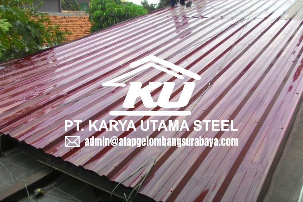 Ready Stok Atap Gelombang Galvalume AZ 100 Murah di Sidoarjo